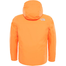 The North Face Snow Quest Jacket Youth Power Orange/Power Orange
